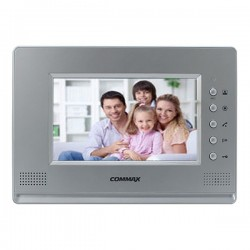 Commax CDV-71AM Silver, Black